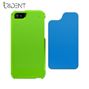 Trident Apollo 2-in-1 Snap-on Case for iPhone 5S / 5 - Green/Blue