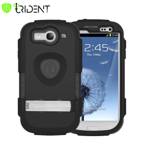 Trident Kraken AMS Case for Samsung Galaxy S3 - Black