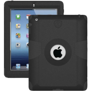 Trident Kraken AMS iPad Mini 3 / 2 / 1  Tough Case - Black