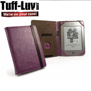Tuff-Luv Embrace Faux leather Kindle / Paperwhite / Touch  - Purple