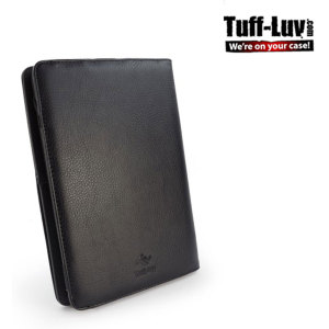 Tuff-Luv Embrace Plus Case for Kindle Fire HD 2012 - Black