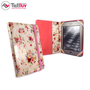 Tuff-Luv Kindle 6 Inch Case - Secret Garden