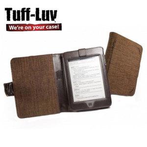 Tuff-Luv Kindle Touch Hemp Case - Mocha Brown