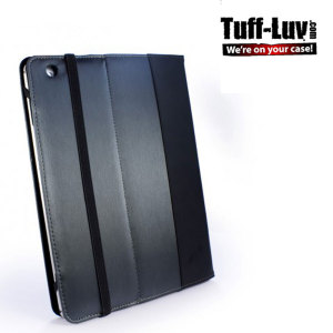 Tuff-Luv Slim-Stand Case for Kindle Fire HD 2012 - Graphite