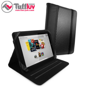 Tuff-Luv Slim-Stand Case for Kindle Fire HD 8.9 - Carbon Fibre