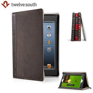 Twelve South Book Case & Stand for iPad Mini 3 / 2 / 1 - Brown