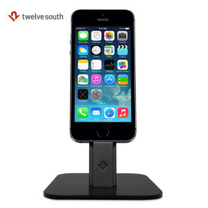 Twelve South HiRise Lightning Desktop Stand and Charger - Black