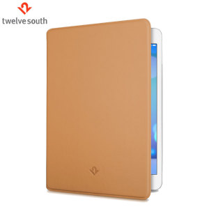 Twelve South SurfacePad iPad Air 2 Luxury Leather Case - Camel