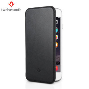Twelve South SurfacePad iPhone 6S / 6 Luxury Leather Case - Black