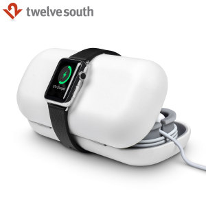 Twelve South TimePorter Apple Watch 2 / 1 Charging Stand Case - White