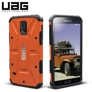 UAG Outland Samsung Galaxy S5 Protective Case - Orange