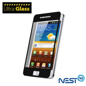 UltraGlass Protective Screen Cover for Samsung Galaxy S2  - Black