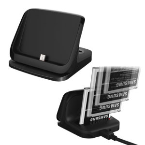 Ultrathin Samsung Galaxy Note 4 Dual Desktop Charging Cradle