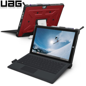 Urban Armor Gear Rogue Microsoft Surface 3 Folio Case - Red