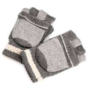 USB Heating Gloves - Grey