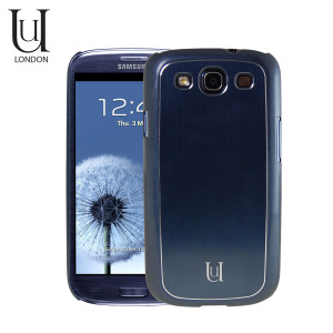 Uunique Metallic Case For Samsung Galaxy S3 - Pebble Blue