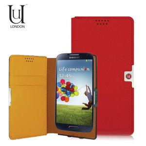 Uunique Universal Medium Slider Folio Case - Red