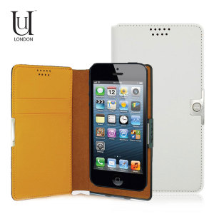 Uunique Universal Small Slider Folio Case - White