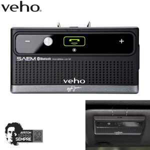 Veho SAEM S3 Ayrton Senna Bluetooth Car & Speaker Kit