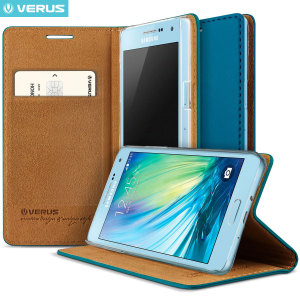 Verus Crayon Diary Samsung Galaxy A5 Leather-Style Case - Deep Blue