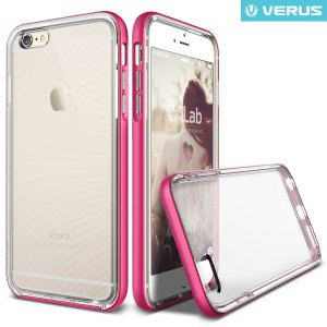 Verus Crystal Bumper iPhone 6S / 6 Case - Hot Pink