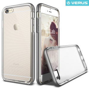 Verus Crystal Bumper iPhone 6S / 6 Case - Steel Silver
