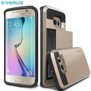 Verus Damda Slide Samsung Galaxy S6 Edge Case - Champagne Gold