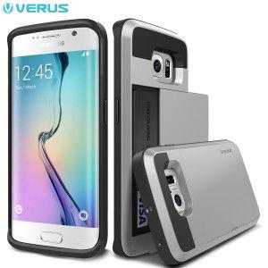 Verus Damda Slide Samsung Galaxy S6 Edge Case - Satin Silver