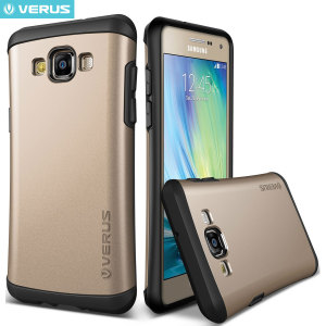 Verus Hard Drop Samsung Galaxy A7 2015 Case - Shine Gold