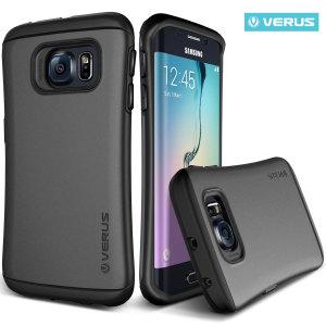 Verus Hard Drop Samsung Galaxy S6 Edge Case - Steel Silver