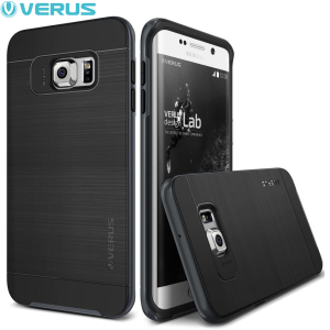 Verus High Pro Shield Samsung Galaxy S6 Edge Plus Case - Steel Silver
