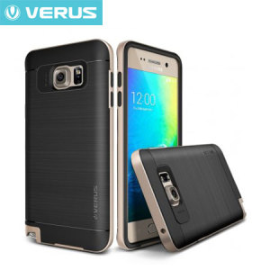 Verus High Pro Shield Series Samsung Galaxy Note 5 Case - Black / Gold