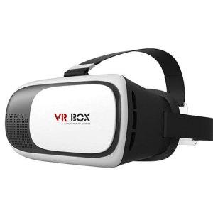 VR BOX Virtual Reality Universal Smartphone Headset - White / Black
