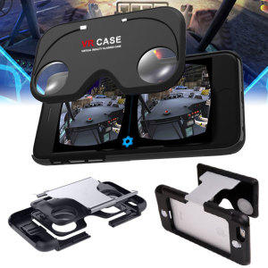 VR Case iPhone 6S / 6 Virtual Reality Glasses Case - Black / Silver