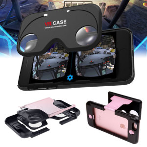 VR Case iPhone 6S / 6 Virtual Reality Glasses Case - Rose Gold