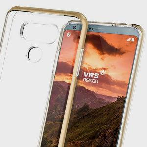 VRS Design Crystal Bumper LG G6 Case - Shine Gold