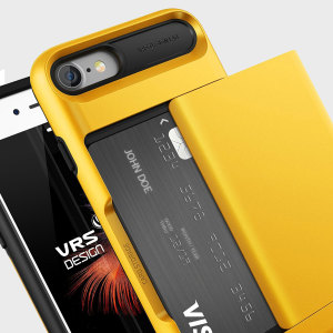VRS Design Damda Glide iPhone 7 Case - Indi Yellow