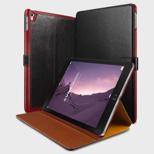VRS Design Dandy Leather-Style iPad Pro 9.7 inch Case - Black