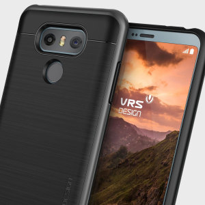 VRS Design High Pro Shield Series LG G6 Case - Dark Silver