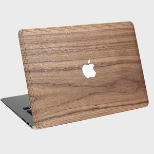 WoodWe Real Wood Apple Macbook Pro Retina 15 Cover - Walnut