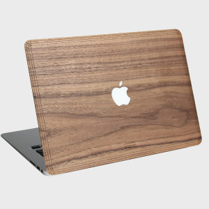 Woodwe real wood apple macbook pro retina 13 cover walnut for Apple book 300