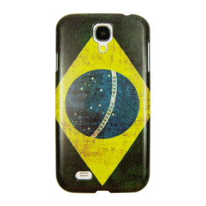 World Cup Flag Samsung Galaxy S4 Case - Brazil