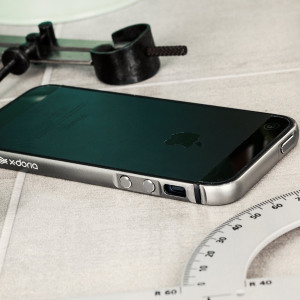 X-Doria Bump Gear Plus iPhone SE Aluminium Bumper Case - Space Grey
