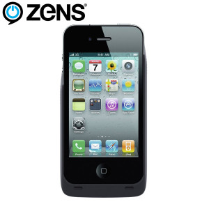 Zens Qi Wireless Charging Case for iPhone 4S / 4 - Black