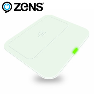 Zens Qi Wireless Charging Pad - White