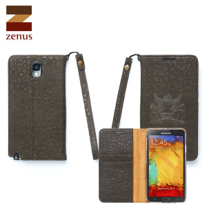 Zenus Asgard Diary Case for Samsung Galaxy Note 3 - Khaki