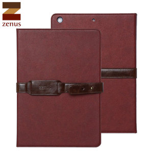 Zenus Belted Diary Case for iPad Air - Wine