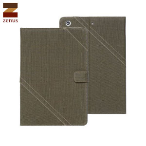 Zenus Cambridge Diary iPad Mini - Khaki