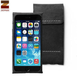 Zenus Italian Alpla Leather Classy iPhone 6 Pouch - Black