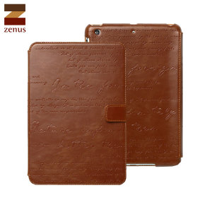 Zenus Lettering Diary iPad Mini 2 - Brown